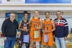 All Stars turnaje - Pamela Effangová (Hradec Králové), Olha Yatskovets (Ružomberok), Janeesa Jeffery